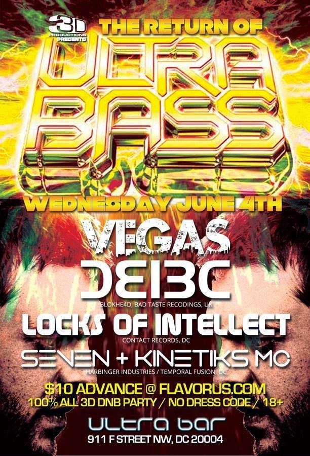ULTRA BASS w/ VEGAS of BCUK - June 2014
