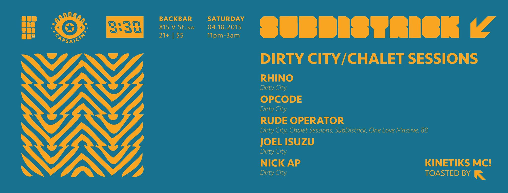 Chalet Sessions Takeover @ Subdistrick!