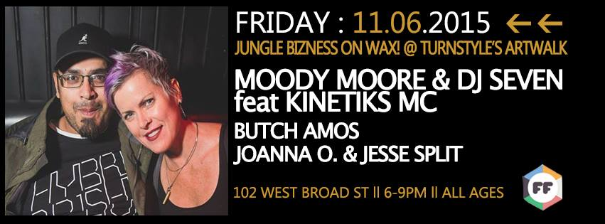 Turnstyle Artwalk: Jungle Bizness in RVA! (11/6)