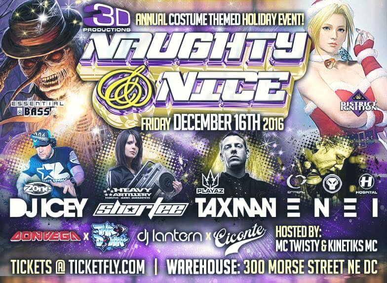 Naughty & Nice (DC Warehouse) – [12.16.16]