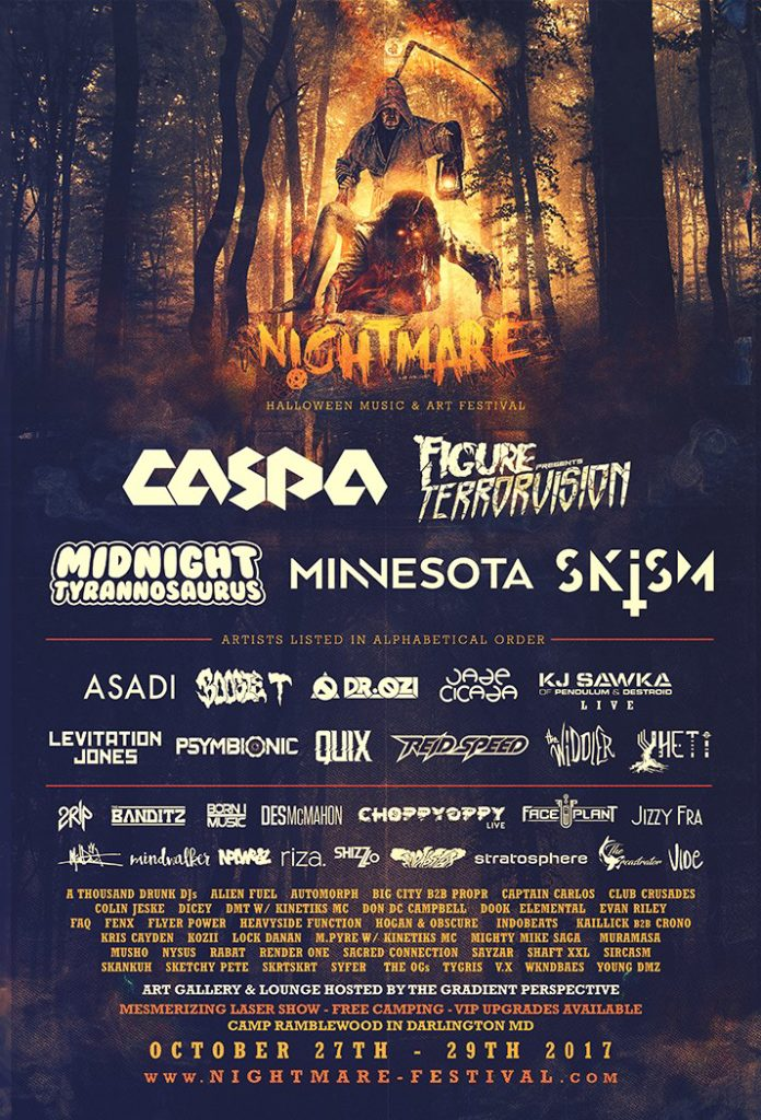 Nightmare Festival 2017 @ Camp Ramblewood! [10/27/17 – 10/29/17]